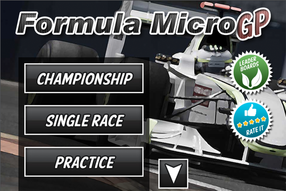 Screenshot Formula Micro GP 1