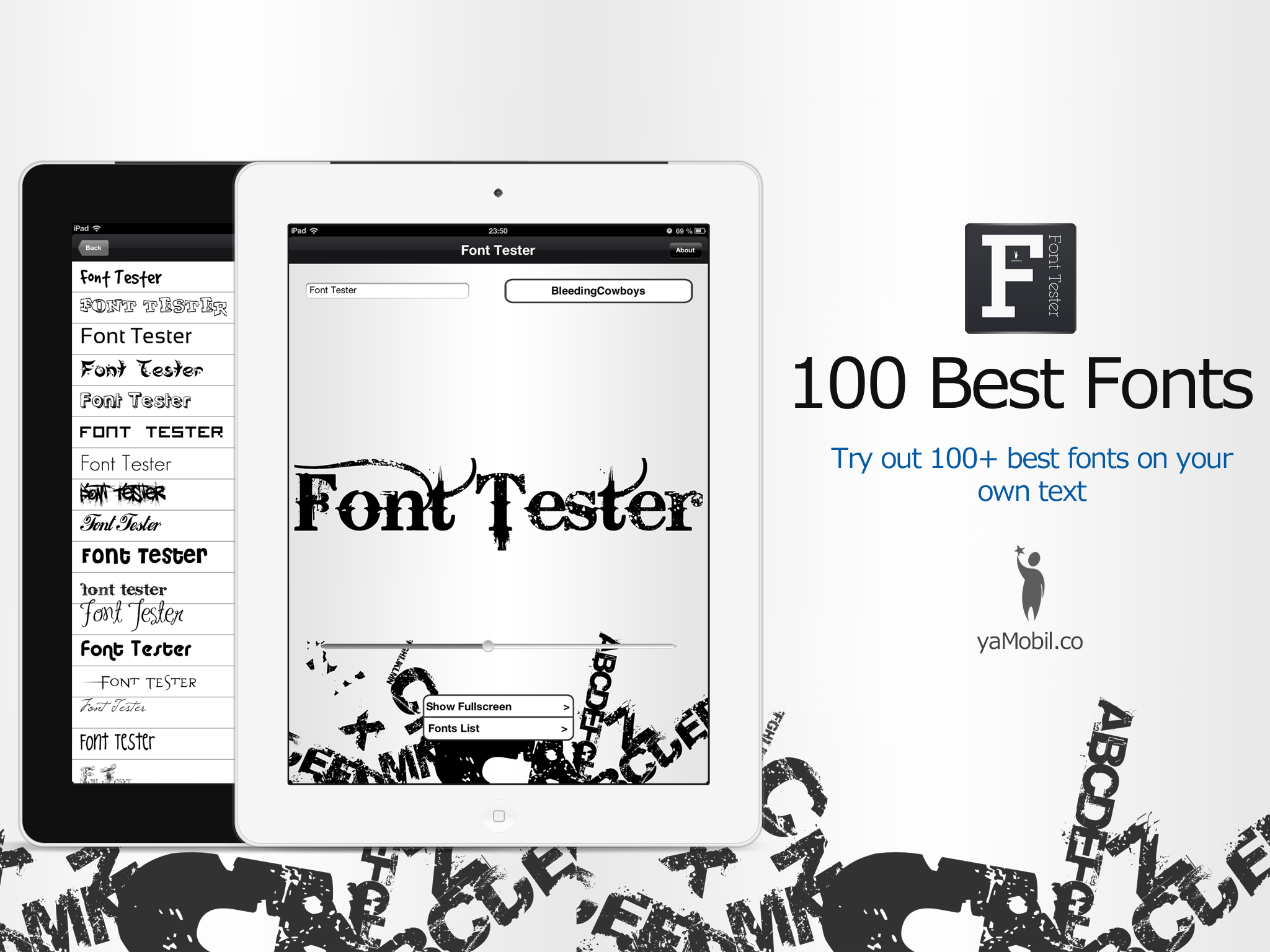 100 Best Fonts HD