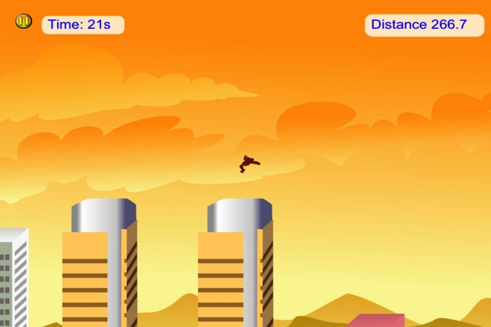 Screenshot Gorilla City – Run, Jump and Fly Adventure
